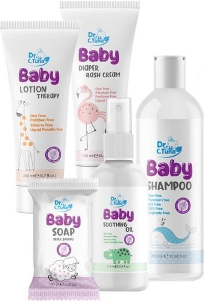 Farmasi Dr. C. Tuna 5'li Bebek Bakım Seti Şampuan-Pişik Kremi-Losyon-Yağ-Sabun