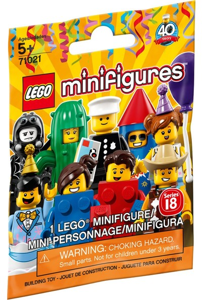 LEGO 71021 Minifigür Seri 18 - Parti