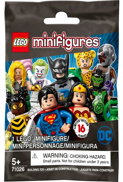 LEGO Dc Super Heroes Joker Minifigür 71026