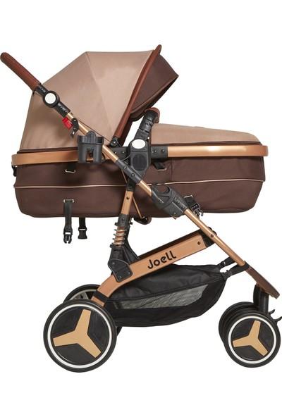Joell Truva Travel Sistem Bebek Arabası Gold Kahverengi