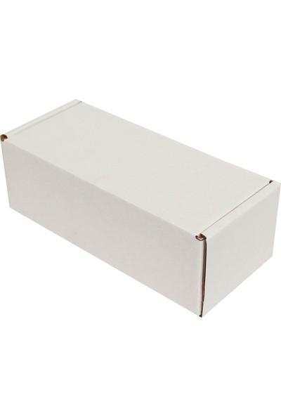 Kolici Beyaz E-Ticaret Kargo Kutusu 18 x 7,5 x 6 cm 25'li