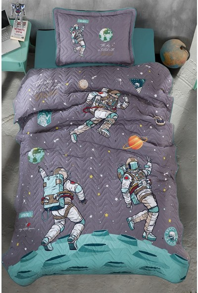 Clasy Genç Yatak Örtüsü Space Antrasit
