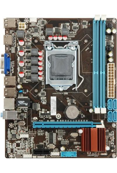 Esonic H55 KEL 133MHz DDR3 1156 Pin mATX Anakart