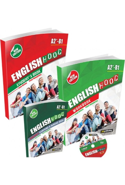 Yds Publishing 10. Sınıf English Hood A2 + B1 Students Book, Workbook, Grammar-Reading Book