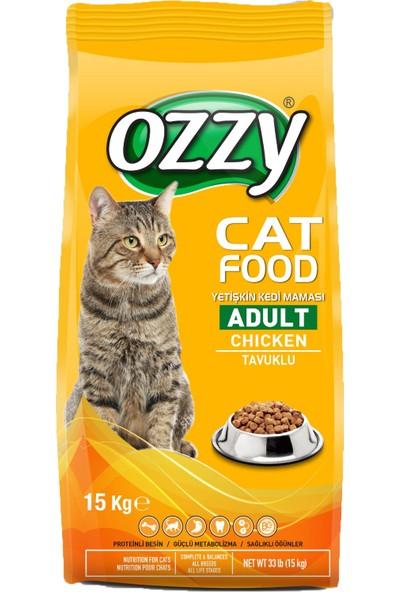 Ozzy Tavuklu Yetişkin Kedi Maması 15 kg