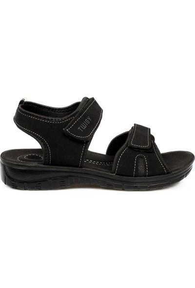 Twigy K1301 F Tw Adventure Siyah Çocuk Sandalet