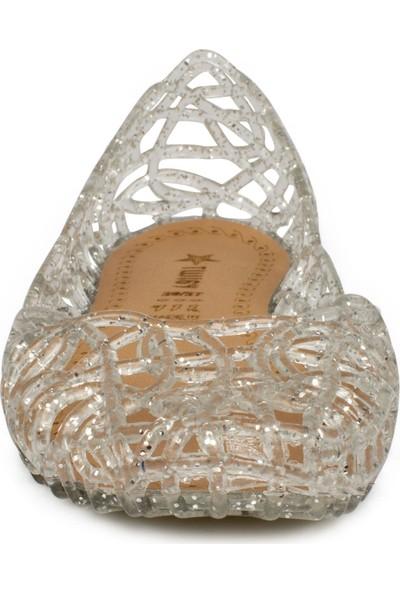 Twigy Pp0839 F Tw Soye Slikon Gümüş Çocuk Terlik