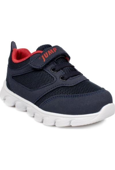 Jump 15666 B Cırtlı Günlük Lacivert Çocuk Spor Ayakkabı