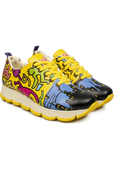 Goby Anouk Z Mavi Kadın Spor Ayakkabı