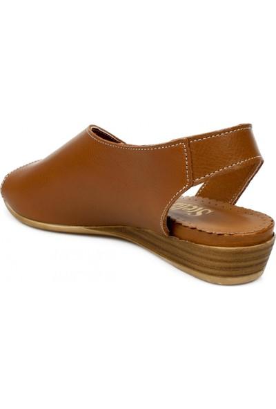 Stella 20214 Z Casual Günlük Taba Kadın Sandalet
