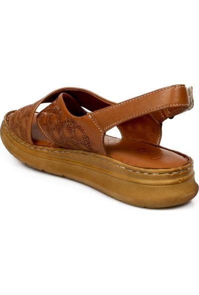 Stella 20276Z Casual Günlük Taba Kadın Sandalet
