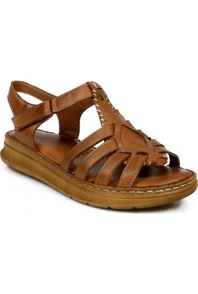 Stella 20277Z Casual Günlük Taba Kadın Sandalet