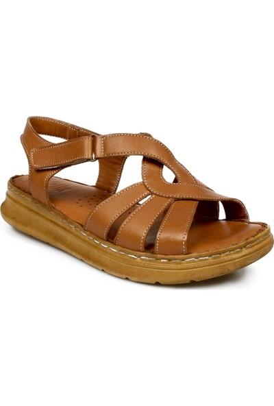 Stella 20279Z Casual Günlük Taba Kadın Sandalet