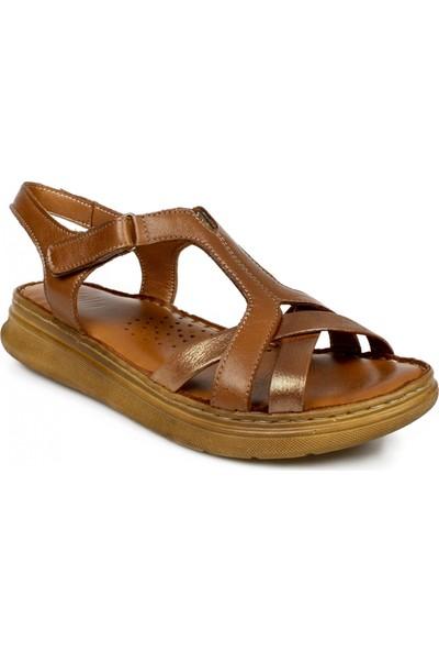 Stella 20280Z Casual Günlük Taba Kadın Sandalet