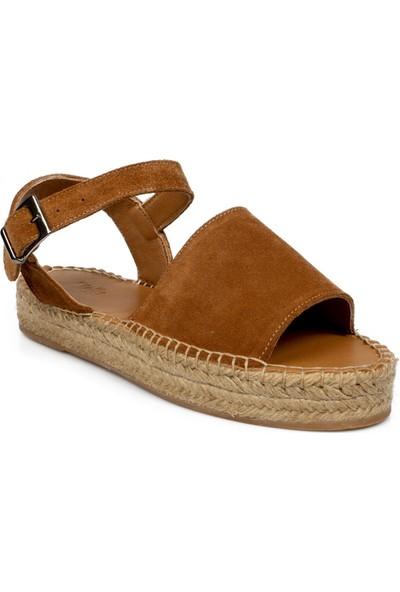 Stella 20335Z Fashion Taba Kadın Sandalet