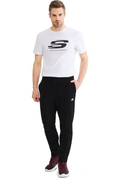 Skechers S201011 Lightweight Fleece Sweatpant Siyah Erkek Giyim