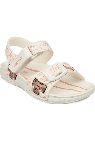 Ceyo 9957 Anatomic Beyaz Çocuk Sandalet
