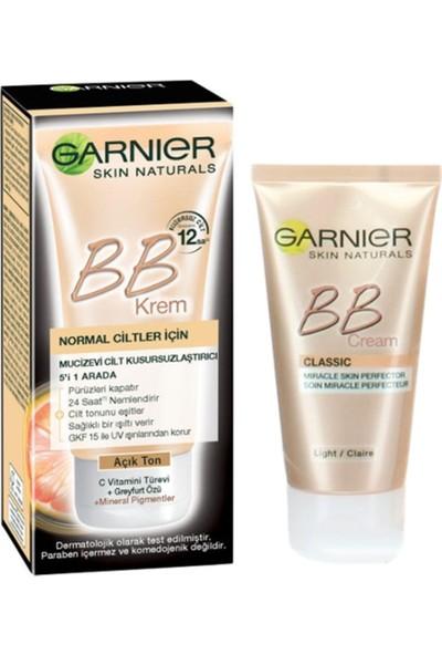 Garnier Bb Krem Mucizevi Cilt Kusursuzlaştırıcı Çok Açık Ton 18ML