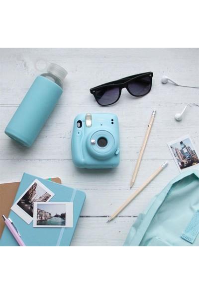Fujifilm Instax Mini 11 Mavi Fotoğraf Makinesi 20'li Film