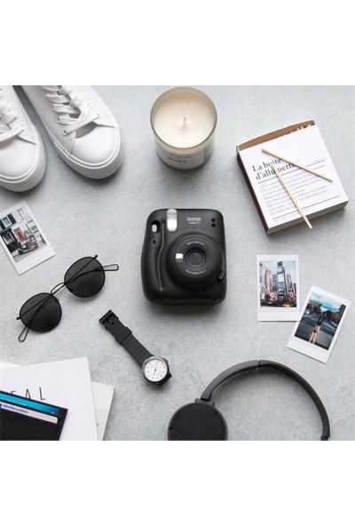 Fujifilm Instax Mini 11 Siyah Fotoğraf Makinesi 10'lu Film