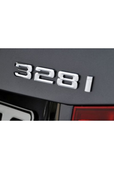 Bmw Depo Bmw 328I (3.28I) Yazı Logo