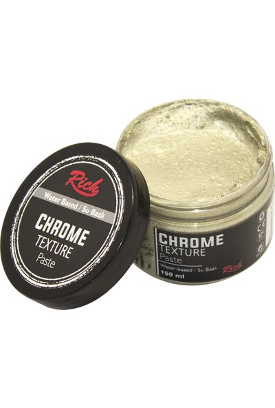 Rich 9200 Chrome Texture Pasta 150 cc Bal Köpüğü