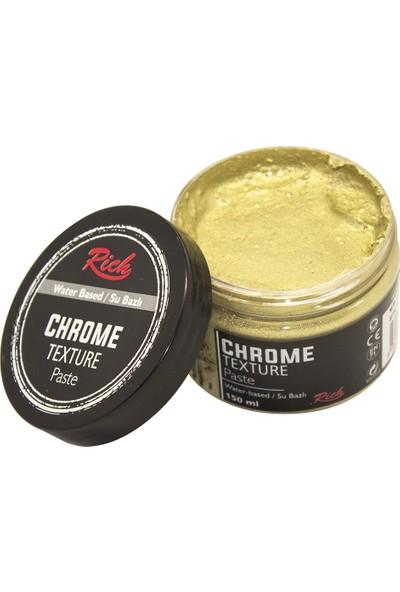 Rich 9202 Chrome Texture Pasta 150 cc Beyaz Altın
