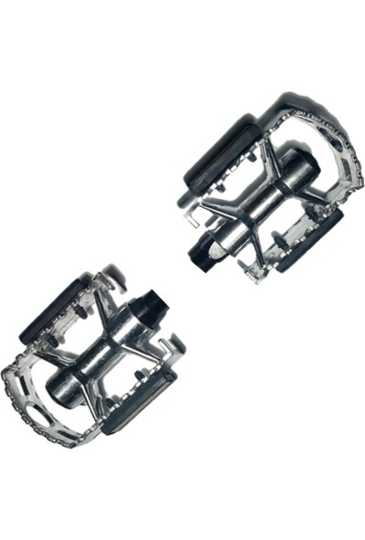 Hsgl Mtb Silver Aluminyum Pedal PDL19