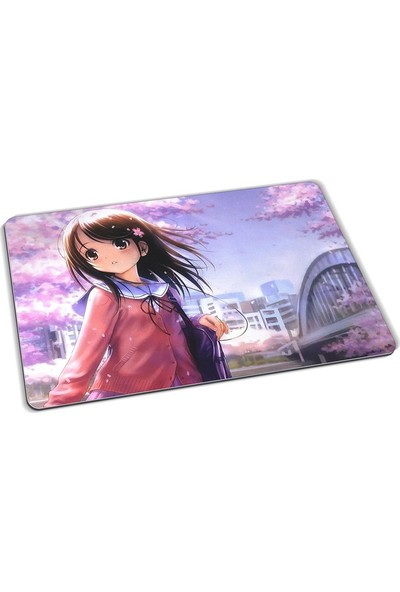 Wuw Anime Girl Mouse Pad