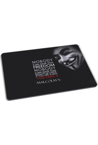 Wuw Nobody Can Give You Freedom Mouse Pad