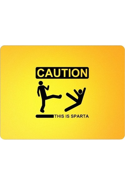 Wuw This Is Sparta Mouse Pad