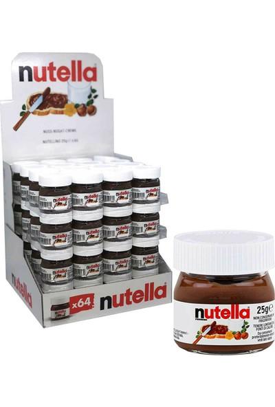 Nutella Mini Kakaolu Fındık Kreması 25 gr 1 Koli 64'lü