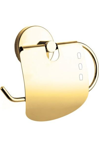 Baymera Damla Gold Serisi Kapaklı Wc Kağıtlık