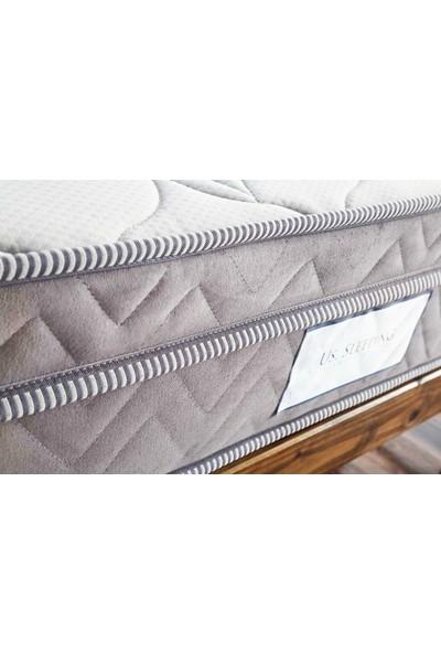 Us. Sleepıng Ultra Super Gray Yaylı Yatak 120 x 200