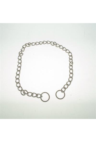 Sanlian Slk Paslanmaz Çelik Zincir Tekli Tasma 2.5mm*