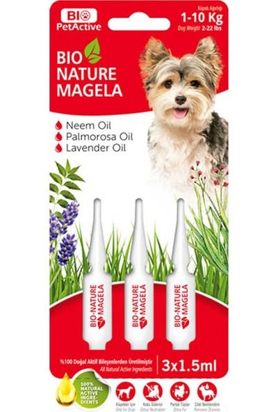 Bio Petactive Bio-Nature Magela 1-10 kg Köpek Ense Damlası (3 x 1,5 Ml)