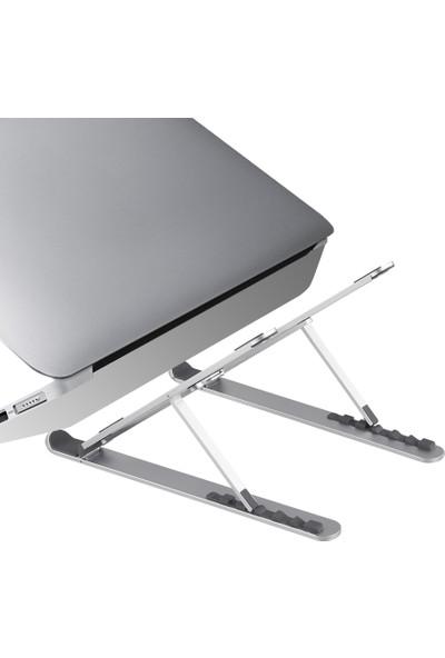 """iDock N29-2 Büyük 14"""" - 17.3"""" Katlanır Alüminyum Laptop Standı"""
