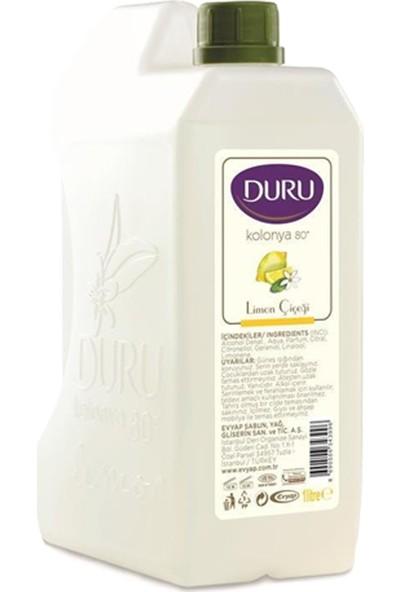Duru Nemlendiricili Shea Yağı Sıvı Sabun 500ML ve Limon Kolonya Bidon 1lt