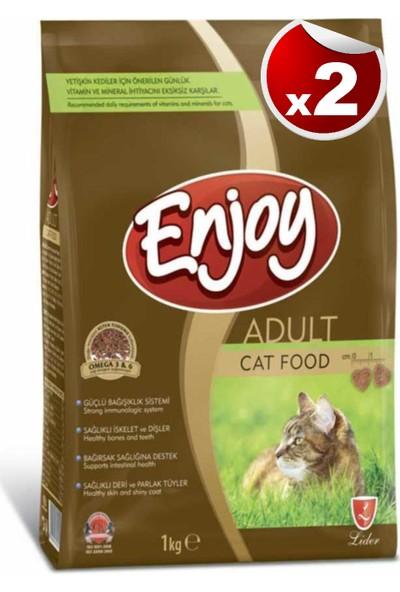 Enjoy Tavuk Etli Kedi Maması 1 kg x 2 Adet