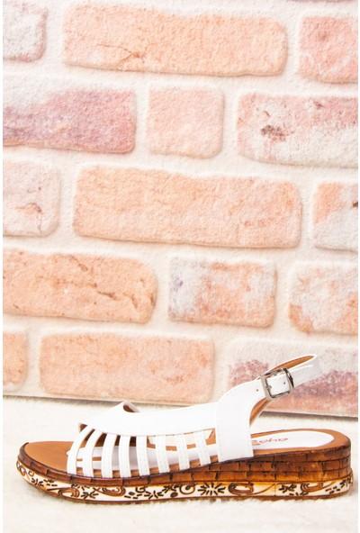 Fox Shoes Beyaz Kadın Sandalet H288094009