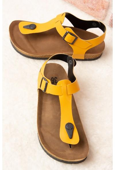 Fox Shoes Hardal Kadın Sandalet B777805009