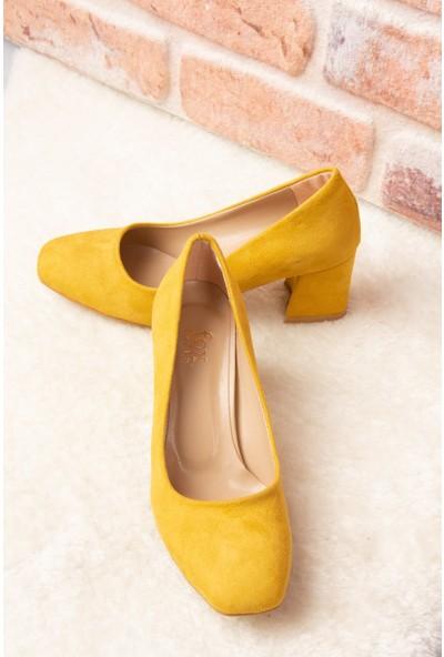 Fox Shoes Hardal Kadın Topuklu Ayakkabı H922745102