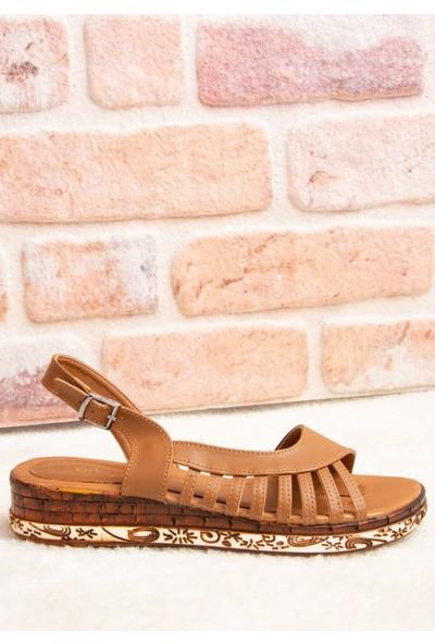 Fox Shoes Taba Kadın Sandalet H288094009