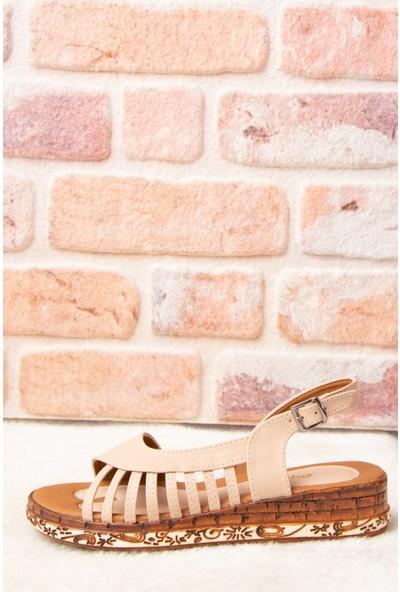 Fox Shoes Ten Kadın Sandalet H288094009
