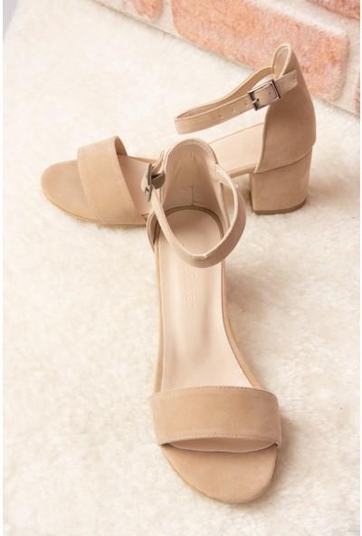 Fox Shoes Ten Kadın Topuklu Ayakkabı H303300002