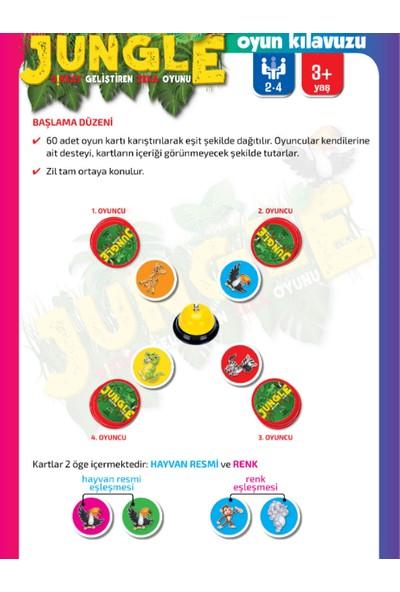 Zeka Oyuncak Jungle Dikkat Geliştiren Zeka Oyunu