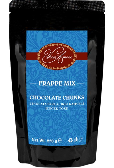 Vero Amore Chocolate Chunks Crunch 250 gr