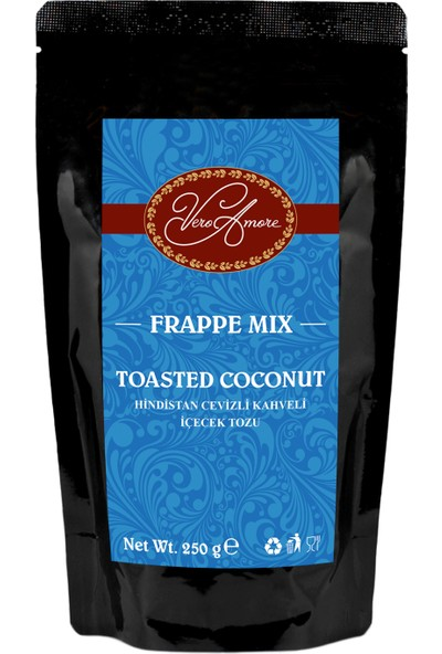 Vero Amore Toasted Coconut Crunch 250 gr