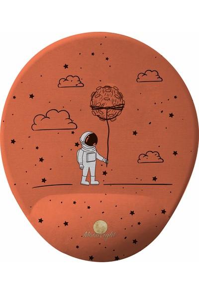 GameBoss Space Astronot Bilek Destekli Tasarım Mouse Pad