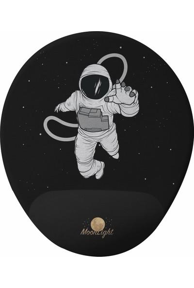 GameBoss Astronot Bilek Destekli Tasarım Mouse Pad